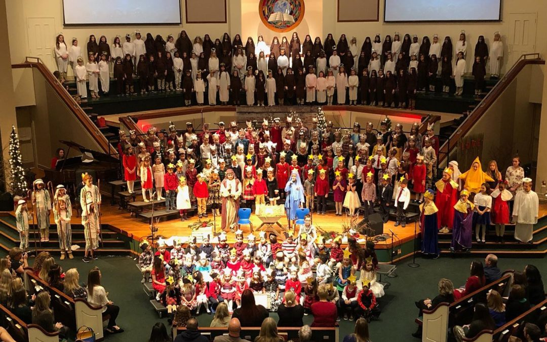 Lower Schools Present Annual Christmas Pageant