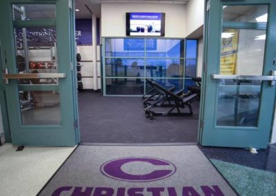 Norfolk Christian Carlson Conditioning Center Entrance
