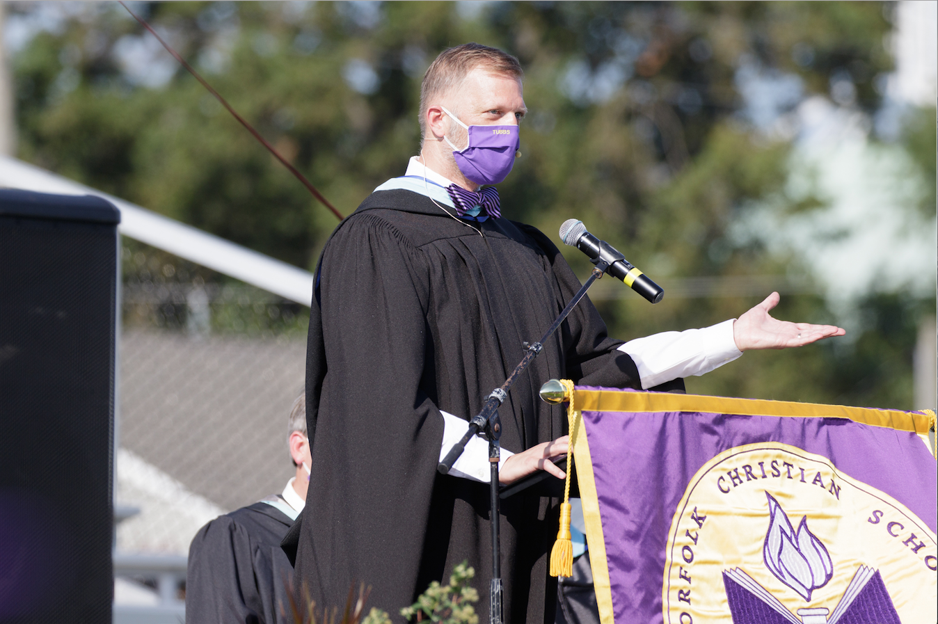 Norfolk Christian Head of School Dan Tubbs